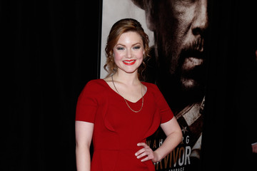 Holliday Grainger 'Lone Survivor' Premieres in NYC