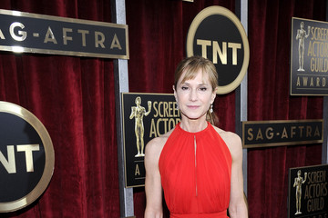 Holly Hunter 20th Annual Screen Actors Guild Awards - Red Carpet