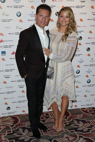 Holly Valance And Nick Candy Photos Photostream Pictures Wgsn Global Fashion Awards Red Carpet Arrivals