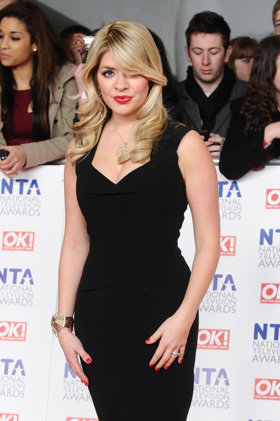 Holly Willoughby - National Television Awards - Arrivals