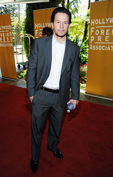Actor Mark Wahlberg arrives at The Hollywood Foreign Press Association's 2011 Installation Luncheon at Beverly Hills Hotel on August 4, 2011 in Beverly Hills, California.