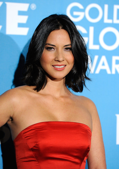 Actress Olivia Munn arrives at The Hollywood Foreign Press Association ...