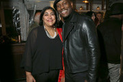 (L-R) Gurinder Chadha and Tyrese Gibson attend the Hollywood Foreign Press Association and The Hollywood Reporter Celebration of the 2020 Golden Globe Awards Season and Unveiling of the Golden Globe Ambassadors at Catch on November 14, 2019 in West Hollywood, California.