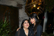 (L-R) Gurinder Chadha and Jameela Jamil attend the Hollywood Foreign Press Association and The Hollywood Reporter Celebration of the 2020 Golden Globe Awards Season and Unveiling of the Golden Globe Ambassadors at Catch on November 14, 2019 in West Hollywood, California.