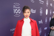 Gugu Mbatha-Raw attends The Hollywood Reporter's 2017 Women In Entertainment Breakfast at Milk Studios on December 6, 2017 in Los Angeles, California.