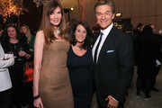 (L-R) Carol Alt, Lisa Oz and Dr. Mehmet Oz attend The Hollywood Reporter's 5th Annual 35 Most Powerful People in New York Media on April 6, 2016 in New York City.