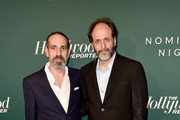 Marco Morabito (L) and Luca Guadagnino attend The Hollywood Reporter 6th Annual Nominees Night at CUT on February 5, 2018 in Beverly Hills, California.