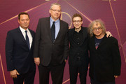 (L-R) Kevin J. Messick, Adam McKay, Nicholas Britell and Hank Corwin attend The Hollywood Reporter's 7th Annual Nominees Night presented by Mercedes-Benz, Century Plaza Residences, and Heineken USA at CUT on February 4, 2019 in Beverly Hills, California.