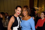 Brooke Shields and Gayle King attend The Hollywood Reporter's 9th Annual Most Powerful People In Mediaat The Pool on April 11, 2019 in New York City.