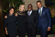 (L-R)  Sheinelle Jones, Dylan Dreyer, Al Roker and Craig Melvin attend the Hollywood Reporter's Most Powerful People In Media 2018 at The Pool on April 12, 2018 in New York City.