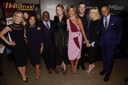 (L-R)  Dylan Dreyer, Sheinelle Jones; Al Roker; Savannah Guthrie, Hoda Kotb, Carson Daly, Megyn Kelly and Craig Melvin attend the Hollywood Reporter's Most Powerful People In Media 2018 at The Pool on April 12, 2018 in New York City.