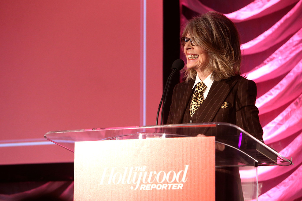 "Diane Keaton in The Hollywood Reporter's ""Power 100: Women ..."