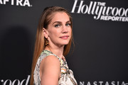 Anna Chlumsky attends The Hollywood Reporter and SAG-AFTRA Annual Nominees Night to celebrate Emmy Award contenders at Annual Nominees Night on September 20, 2019 in Beverly Hills, California.