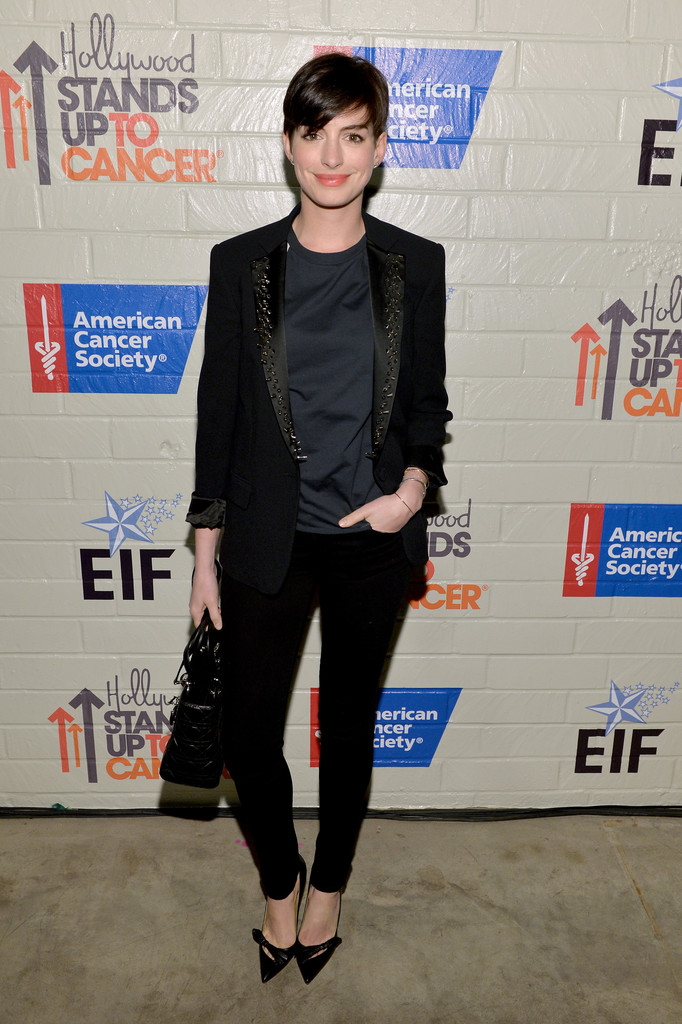 Hollywood Stands Up Cancer     Anne Hathaway
