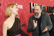 "Claire Danes and Mandy Patinkin attend the ""Homeland"" Season 8 Premiere at Museum of Modern Art on February 04, 2020 in New York City."
