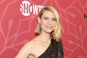 "Claire Danes attends the ""Homeland"" Season 8 Premiere at Museum of Modern Art on February 04, 2020 in New York City."
