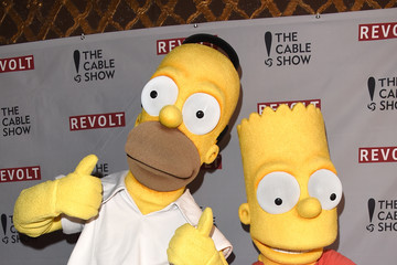 Homer Simpson Bart Simpson REVOLT and NCTA Celebration of Cable —Part 2