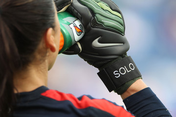 Hope Solo Russia v United States