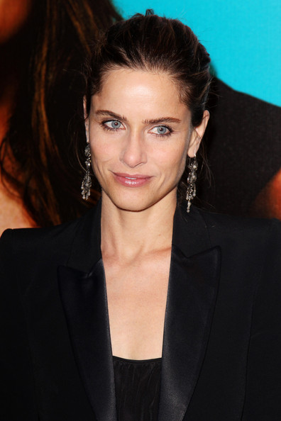 (UK TABLOID NEWSPAPERS OUT) Amanda Peet attends the UK premiere of Horrible Bosses at The BFI Southbank on July 20, 2011 in London, England.