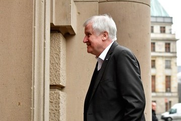 Horst Seehofer Exploratory Talks With Members of Potential Coalition Parties
