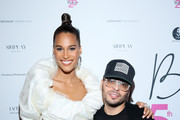 Cindy Bruna and Richie Akiva attend Cindy Bruna's Birthday Party at Hotel Lutetia with Five Eyes Production as part of Paris Fashion Week Womenswear Spring Summer 2020 on September 28, 2019 in Paris, France.