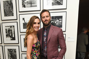 Armie Hammer and Elizabeth Chambers Hammer Photos Photo