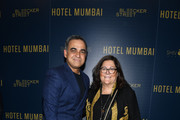 """Bibhu Mohapatra and Fern Mallis attend the """"Hotel Mumbai"""" New York Screening at Museum of Modern Art on March 17, 2019 in New York City."""