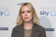 Tanya Burr attends the 'House of Sky Q' Launch at The Vinyl Factory on November 15, 2018 in London, England.