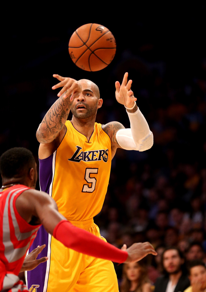 Carlos Boozer in Houston Rockets v Los Angeles Lakers - Zimbio