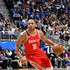 Eric Gordon #10 of the Houston Rockets handles the ball against the Orlando Magic on January 3, 2018 at the Amway Center in Orlando, Florida. NOTE TO USER: User expressly acknowledges and agrees that, by downloading and or using this Photograph, user is consenting to the terms and conditions of the Getty Images License Agreement. Mandatory Copyright Notice: Copyright 2018 NBAE