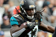 Chris Ivory #33 of the Jacksonville Jaguars runs for yardage against the Houston Texans during the game at EverBank Field on November 13, 2016 in Jacksonville, Florida.