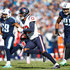 Braxton Miller Photos - Braxton Miller #13 of the Houston Texans runs with the ball after a reception against the Tennessee Titans during the first half at Nissan Stadium on December 3, 2017 in Nashville, Tennessee. - Houston Texans v Tennessee Titans