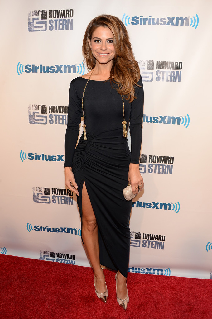 Maria menounos on howard stern show