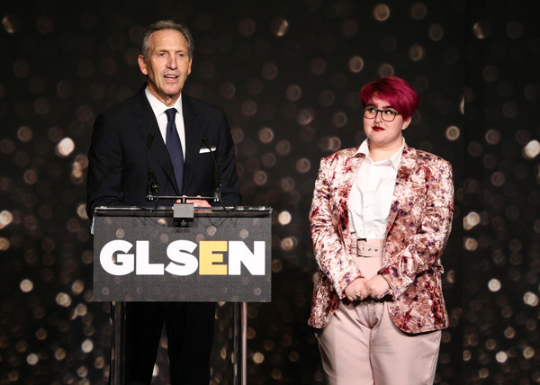 GLSEN Respect Awards – Los Angeles - Inside [performance,talent show,event,fashion,music artist,award,stage,award ceremony,performing arts,howard schultz,anais canepa,glsen respect awards,los angeles,beverly hills,california,beverly wilshire four seasons hotel,l]