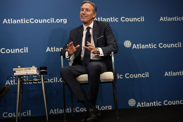 Starbucks Chairman Howard Schultz Discusses The Role Of Public Global Companies []