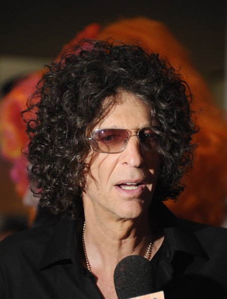 """Howard Stern is interviewed during an """"America's Got Talent"""" Post"""