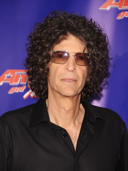 "Radio Personality Howard Stern attends an ""America's Got Talent"" Post"
