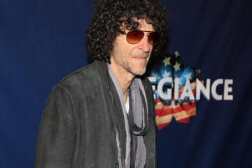 Howard Stern 'Allegiance' Broadway Opening Night - Arrivals & Curtain Call