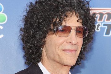 Howard Stern Stars Attend the 'America's Got Talent' Season 10 Taping in NYC