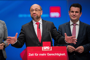 Hubertus Heil, SPD Holds Federal Party Congress