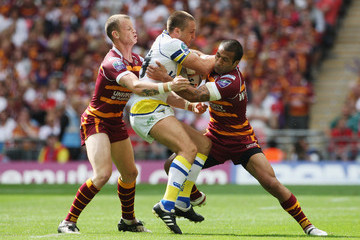 Paul Whatuira Huddersfield Giants v Warrington Wolves- Carnegie Challenge Cup Final