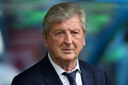 Roy Hodgson, Manager of Crystal Palace looks on during the Premier League match between Huddersfield Town and Crystal Palace at John Smith's Stadium on September 15, 2018 in Huddersfield, United Kingdom.