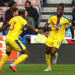 Patrick van Aanholt Wilfried Zaha Photos