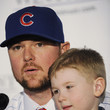 Hudson Lester Chicago Cubs Introduces Jon Lester