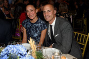 Cristen Barker (L) and Nigel Barker attend the Hudson River Park Annual Gala at Cipriani South Street on October 17, 2019 in New York City.