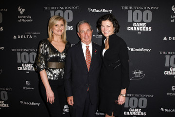 """Michael Bloomberg Diana Taylor The Huffington Post 2010 """"Game Changers"""""""
