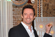Hugh Jackman Lights the Empire State Building
