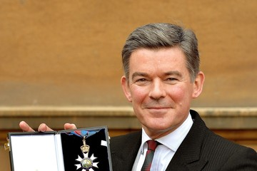 Hugh Robertson Investitures Held at Buckingham Palace