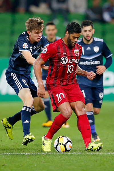 Melbourne Victory Vs. Shanghai SIPG: AFC Champions League [player,soccer,sports,soccer player,sports equipment,football player,team sport,ball game,football,tournament,hulk,v,ball,shanghai,melbourne,australia,shanghai sipg,melbourne victory,afc champions league,match]