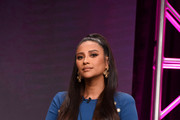 Shay Mitchell speaks onstage during the Hulu 2019 Summer TCA Press Tour at The Beverly Hilton Hotel on July 26, 2019 in Beverly Hills, California.
